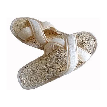 Pantofle z lufy