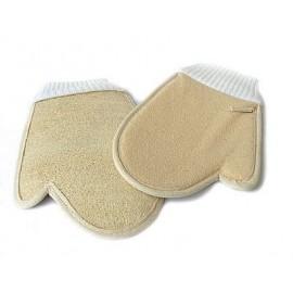 Masážní rukavice z lufy