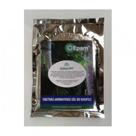 Aromatická sůl do koupele eukalypt