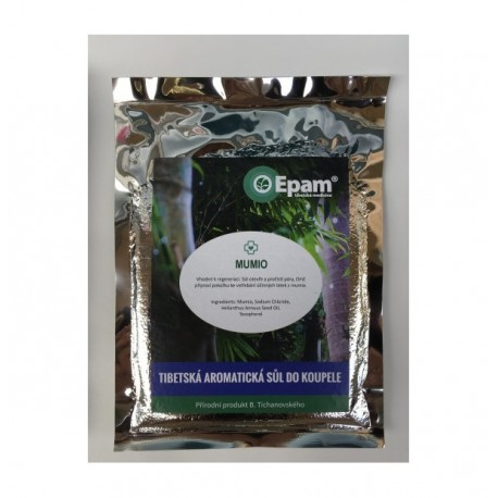 MUMIO - aromatická sůl do koupele Epam 250g