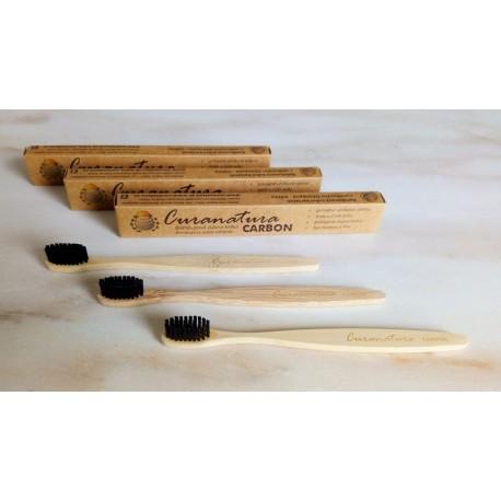 bambusový kartáček carbon