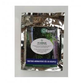 PO NÁMAZE (svaly, klouby, šlachy) - aromatická sůl do koupele Epam 250g