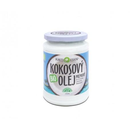 bio kokosový olej panenský