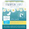 NATRACARE Menstruační vložky Ultra SUPER s křidélky 12 ks