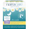 NATRACARE Menstruační vložky Ultra LONG s křidélky 10 ks