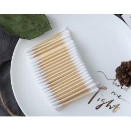 Bambusové vatové tyčinky 500 ks rodinné balení