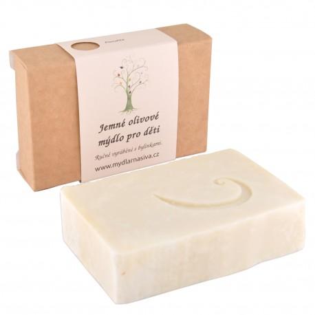 Jemné olivové mýdlo pro děti